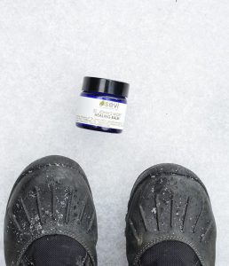 We are baaaack + so is our uber balmy balm! Just brewed a batch of St. John's Wort Healing Balm. It might not do the dishes or fold the laundry, but it sure is super for inflamed, dry, cracked skin, scrapes, tattoos, rashes and any other minor boo boo or skin related challenge life might throw your way. And yes, we will keep working on a balm that can do your dishes too  Stay warm + safe folks! #thebmorecreatives #ecosevi #ecovegan #baltimorestyle #herbalism #herbalist #apothecary #greenbeauty #handmade #tattoocare