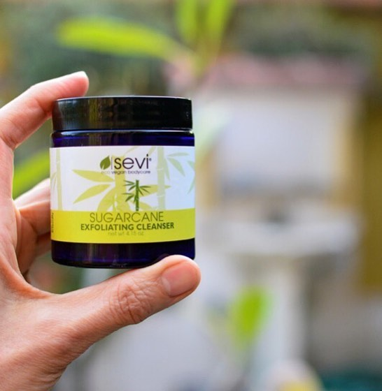"Aww Ann, making us blush again! ️🏽 ""This is my favorite exfoliating cleanser. It exfoliates so gently and leaves my skin glowing. I love the feel of my skin after using this...super soft. All of Sevi's skincare products are fantastic. Great ingredients. Absolutely LOVE this one!"""